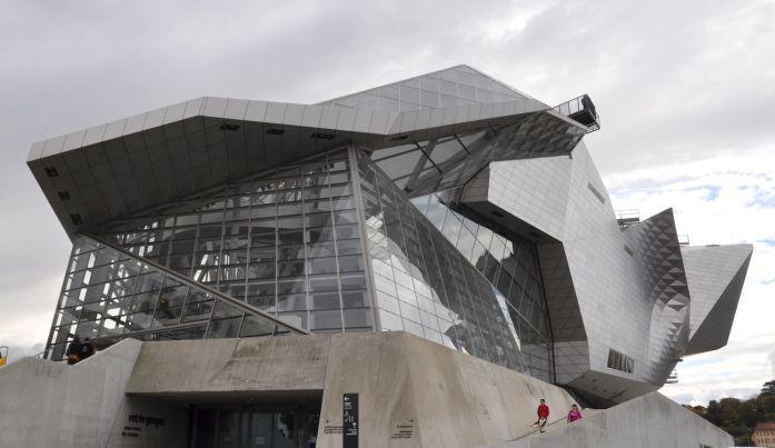 Week-end à Lyon : extérieur du musée des Confluences