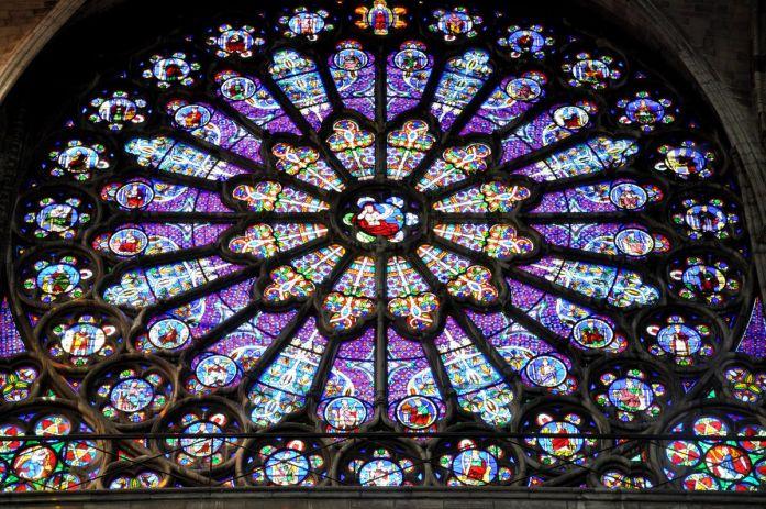Rosace de la Basilique Saint Denis