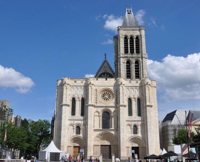 Extérieur de la Basilique Saint Denis