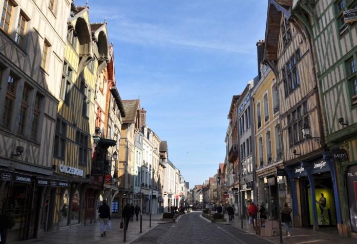 Rues commerçantes de Troyes