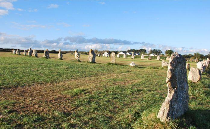 Presqu'île de Crozon - mégalithes