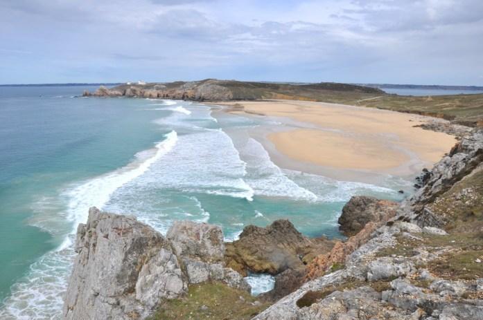 Presqu'île de Crozon - plage de Pen-Hat à Camaret