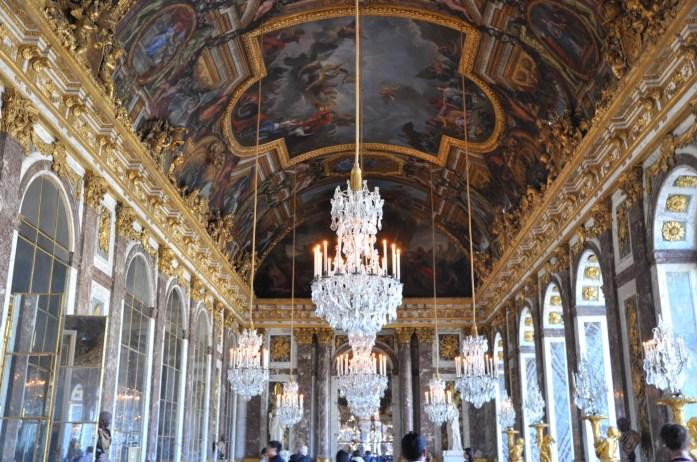 Château de Versailles - galerie des glaces