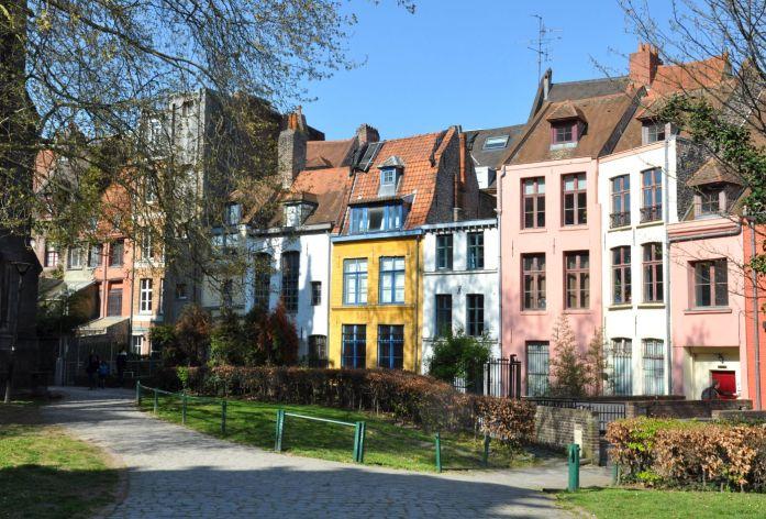 Lille en une journée - maisons colorées