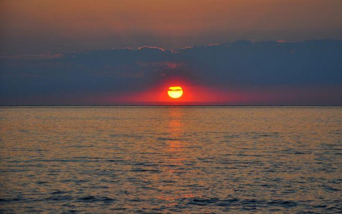 Coucher de soleil sur la Dune du Pilat