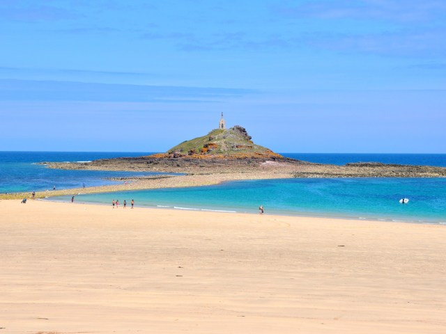Week-end en Bretagne, îlot Saint Michel