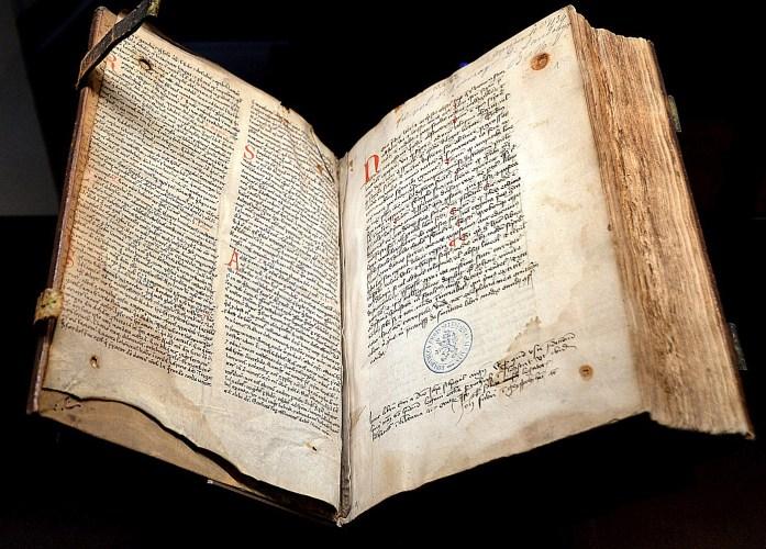 Sélestat - manuscrit de la bibliothèque humaniste
