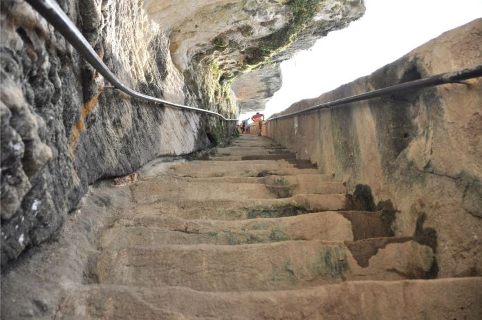 Que faire à Bonifacio ? Escalier du Roy d'Aragon