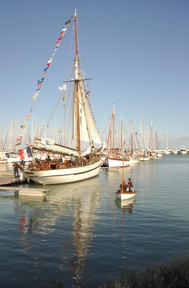 Île d'Oléron : port de la Boirie