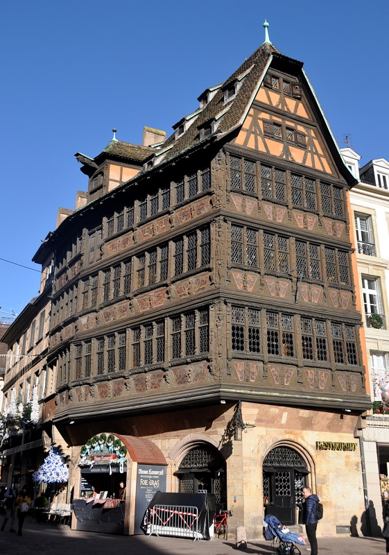 Maison Kammerzell de Strasbourg - Blog La Marinière en Voyage