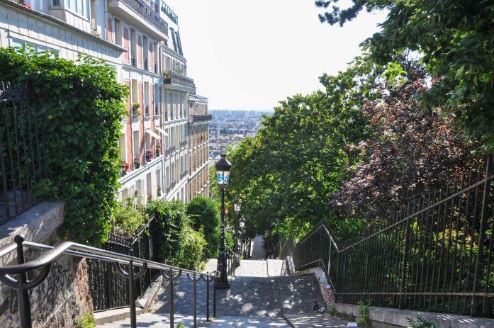 Escaliers de Montmartre - Blog La Marinière en Voyage