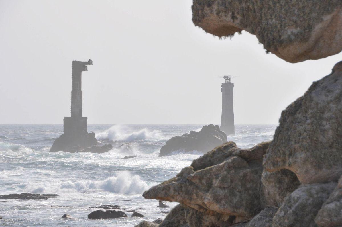 Phare de Nividic, Ouessant - Blog La Marinière en Voyage