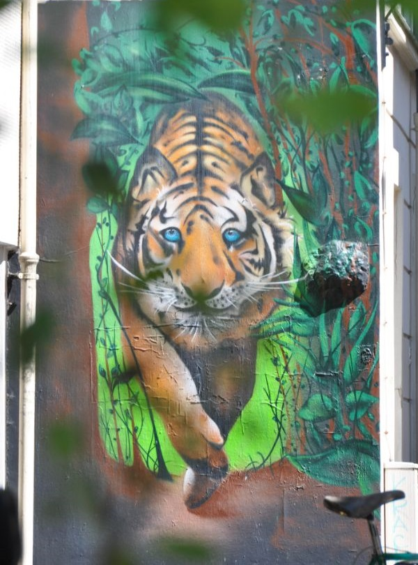 Street-art à la Butte aux Cailles - blog La Marinière en Voyage