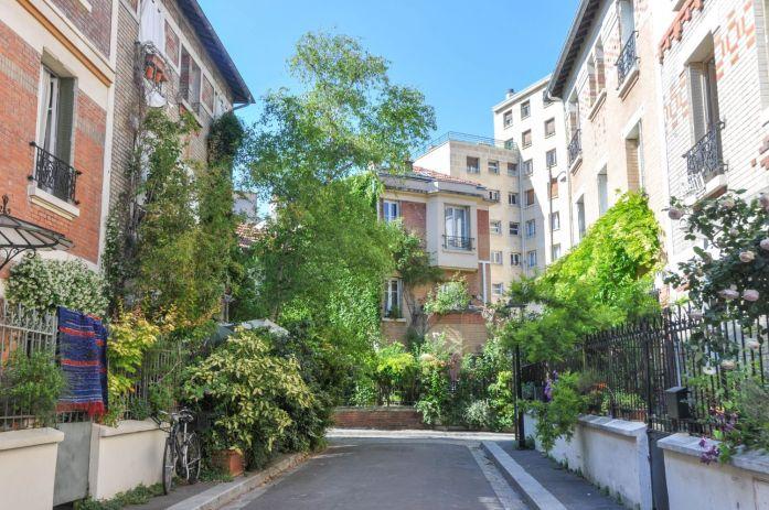 Cité fleurie à Paris - blog La Marinière en Voyage