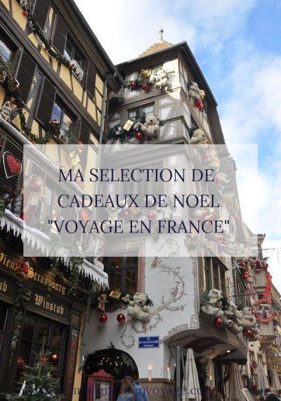 """Ma sélection de cadeaux de Noël """"voyage en France"""" - blog La Marinière en Voyage"""