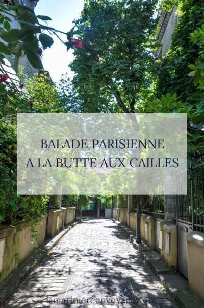 Balade à la Butte aux Cailles - Visiter Paris à pied - Blog La Marinière en Voyage