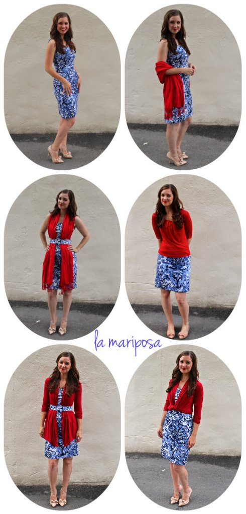 La Mariposa: 1 Dress 5 Ways