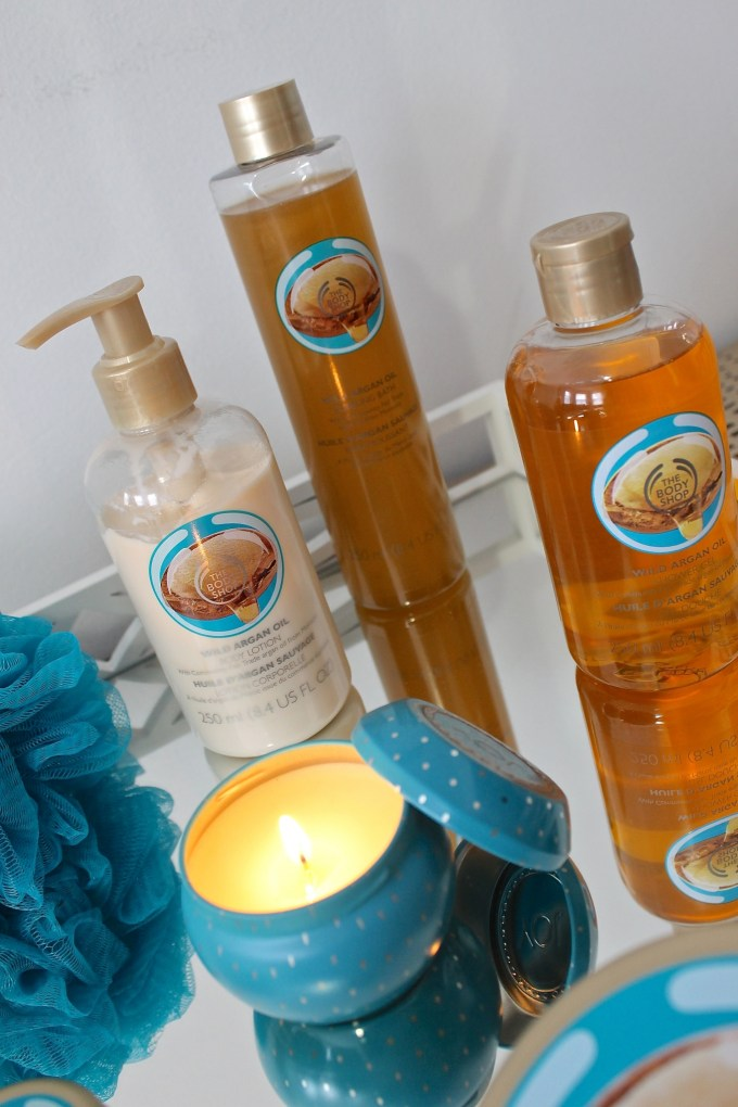 The Body Shop: Wild Argan Oil Line