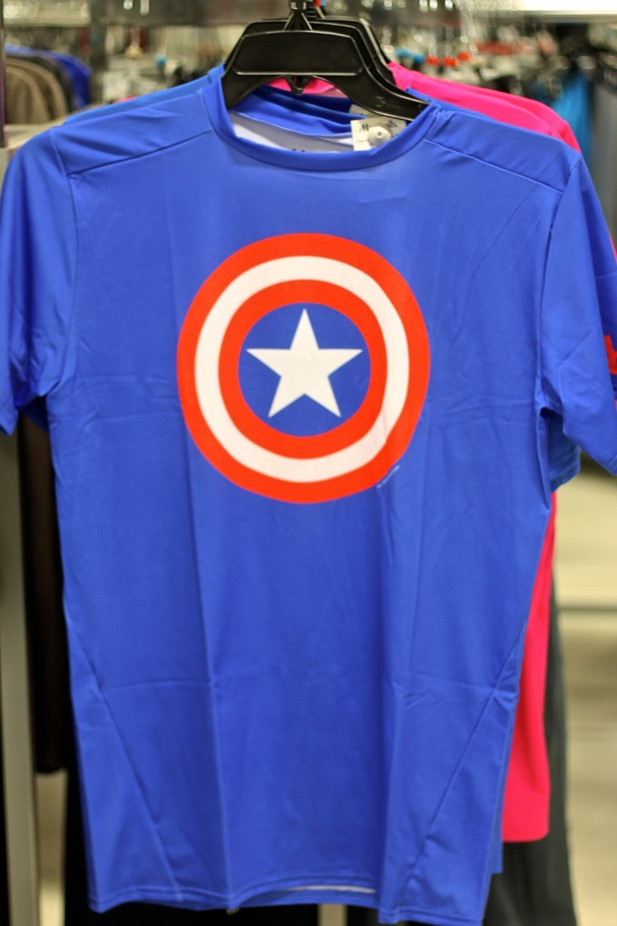 #FabFound Marvel Underarmour Tee from Marshalls