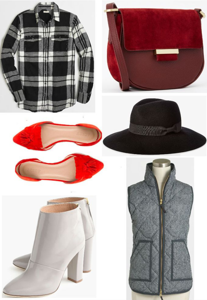 Fall Transition- Red Black Grey Pieces