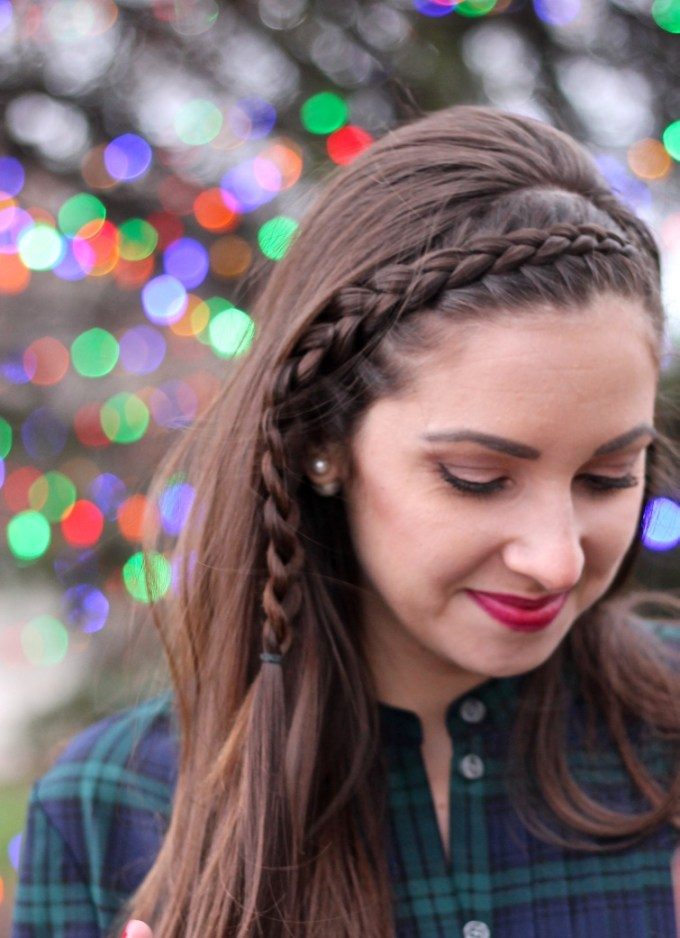 3D French Headband Braid, Dutch Braid