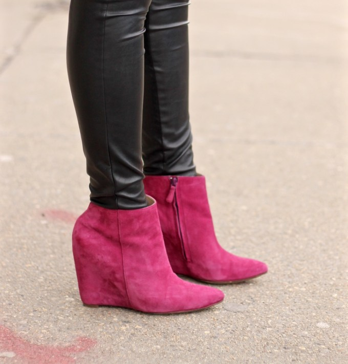 Cole Haan Booties in Wine