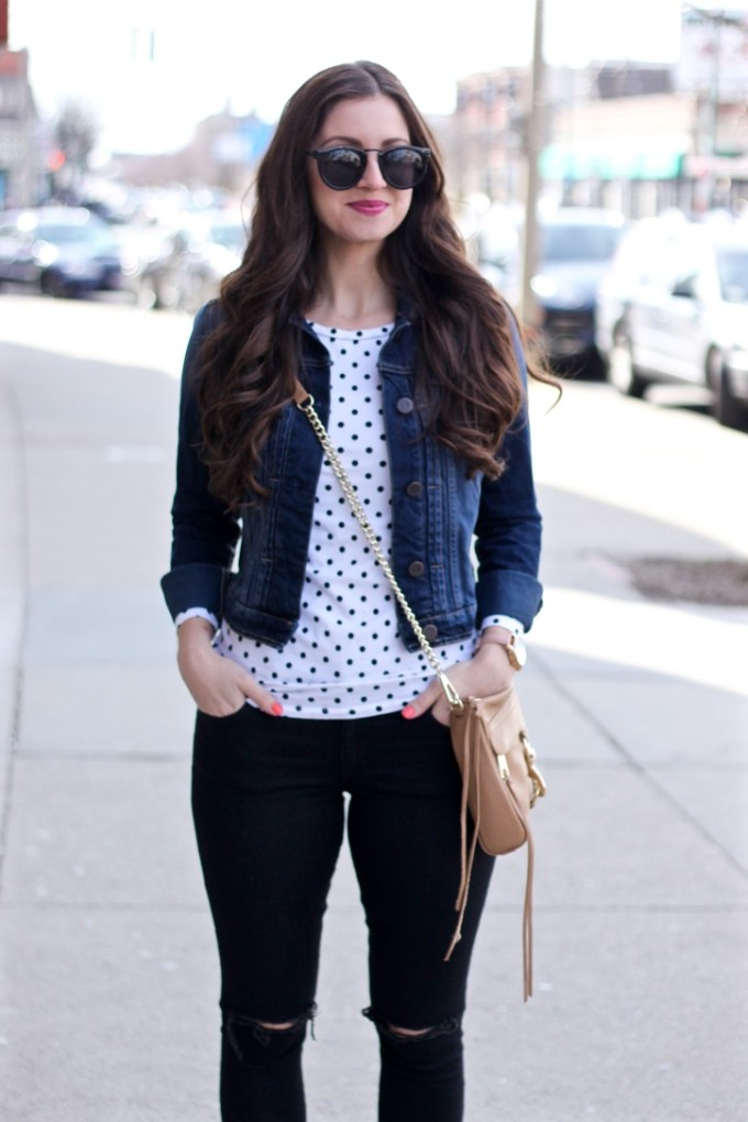 Polkadots & denim