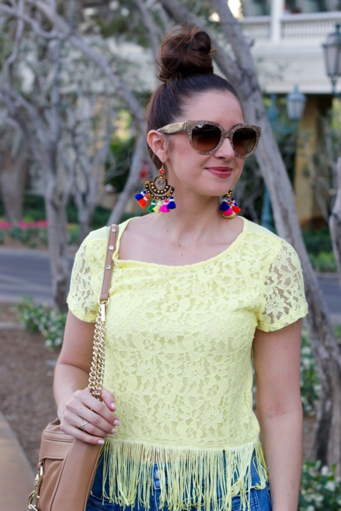 J.Crew Fringe Tassel Earrings