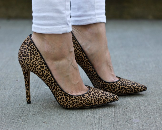 Nine West Leopard Frolic Pump