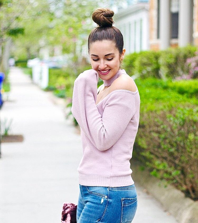 Top knots amp bell sleeves Shop this sweater here gthellip