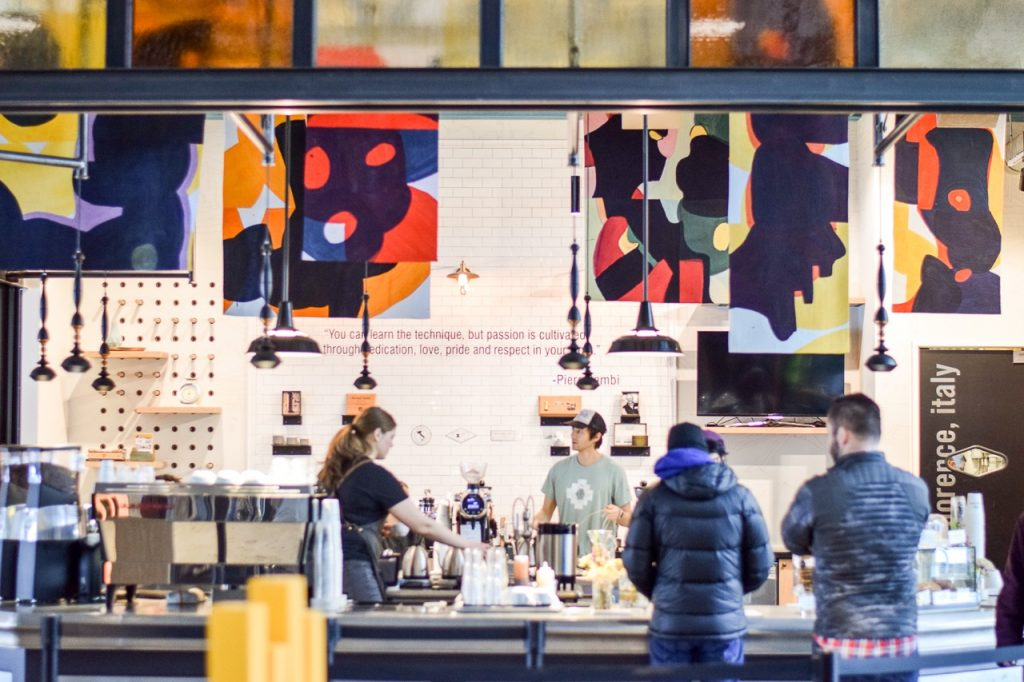La Marzocco cafe and Elixir coffee