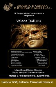 OCCM VELADA ITALIANA