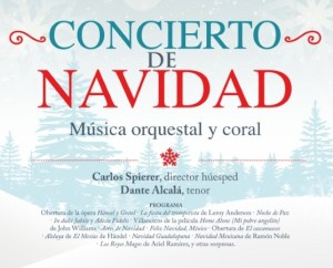 Orquesta Sinfónica de Minería Concierto de Navidad