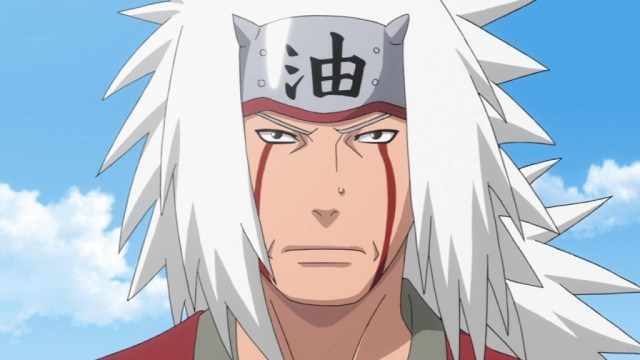 La formación de Naruto Uzumaki con Jiraiya, el novelista