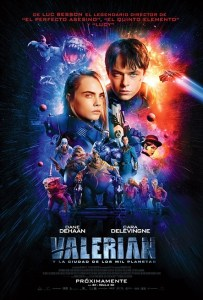 Valerian and the City of a Thousand Planets: Sin guion y sin humor