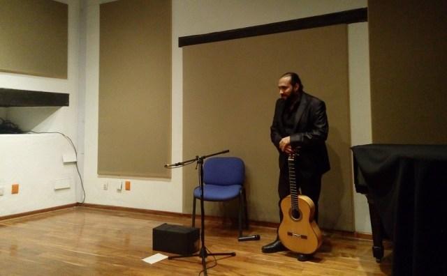 Samir Belkacemi lleva a la Fonoteca la música desde las esferas del universo
