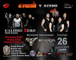 Calibre Zero regresa a la Ciudad de México en su gira de décimo aniversario