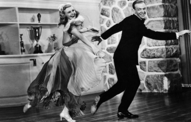 Ginger no baila con Fred