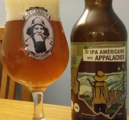 IPA Américaine des Appalaches de Pit Caribou