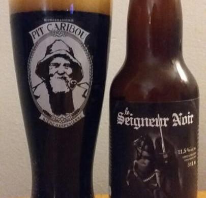 Vieillissement de la bière : Seigneur Noir des Brasseurs du Monde