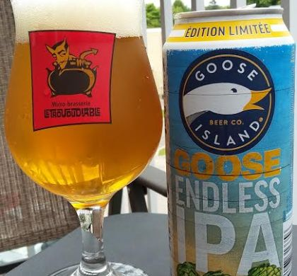 Endless IPA de Goose Islands (Chicago, É-U.)