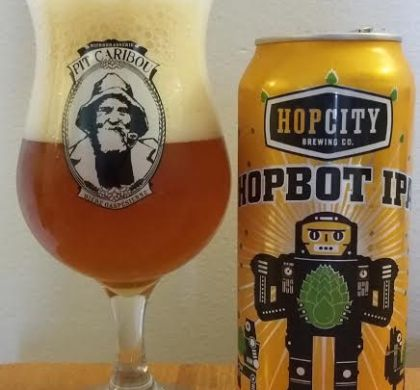 HopBot IPA de Hop City (Ontario)