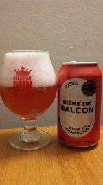 Bière de Balcon de l'Espace Public