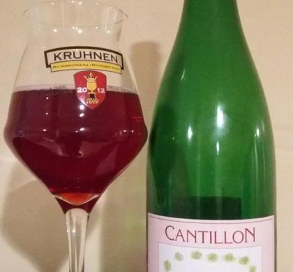 Rosé de Gambrinus de Cantillon (Belgique)