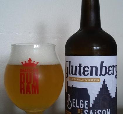 Glutenberg Belge de Saison des Brasseurs Sans Gluten