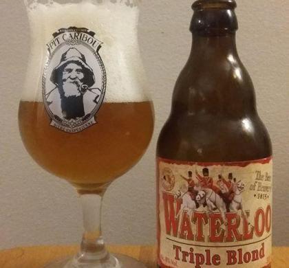 Waterloo Triple Blond de John Martin (Belgique)