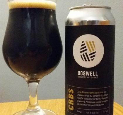 CRBS de Boswell Brasserie Artisanale