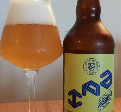 Double IPA Brut Ale de la Microbrasserie Charlevoix