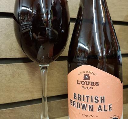 British Brown Ale de l'Ours Brun