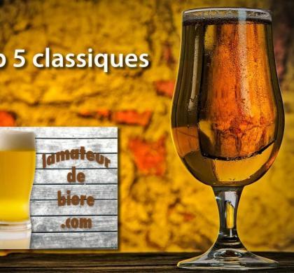 Top 5 des classiques 2018 de L'amateur de bière